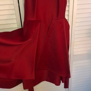 Gianni Bini Dresses - Gianni Bini Red satin cocktail dress